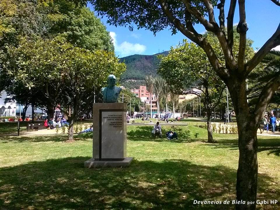 Parque de La 93 Bogota Colombia
