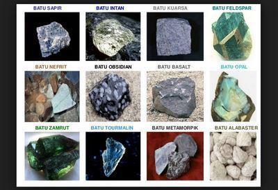 Pengertian Batuan Metamorf dan Contohnya