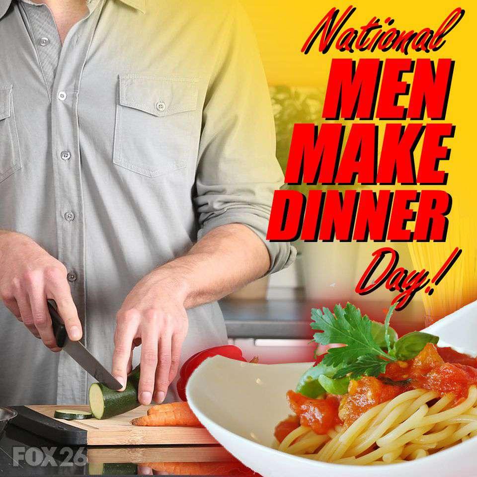 National Men Make Dinner Day Wishes for Instagram