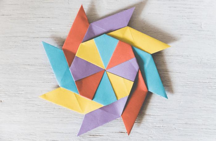 Seni Melipat Kertas Origami