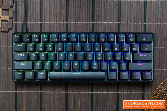 geek gk61 optical mechanical keyboard