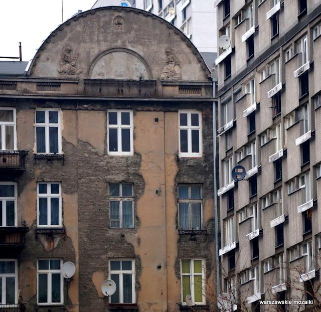 Warszawa Warsaw Wola przedwojenna kamienica Alicji Koźmińskiej
