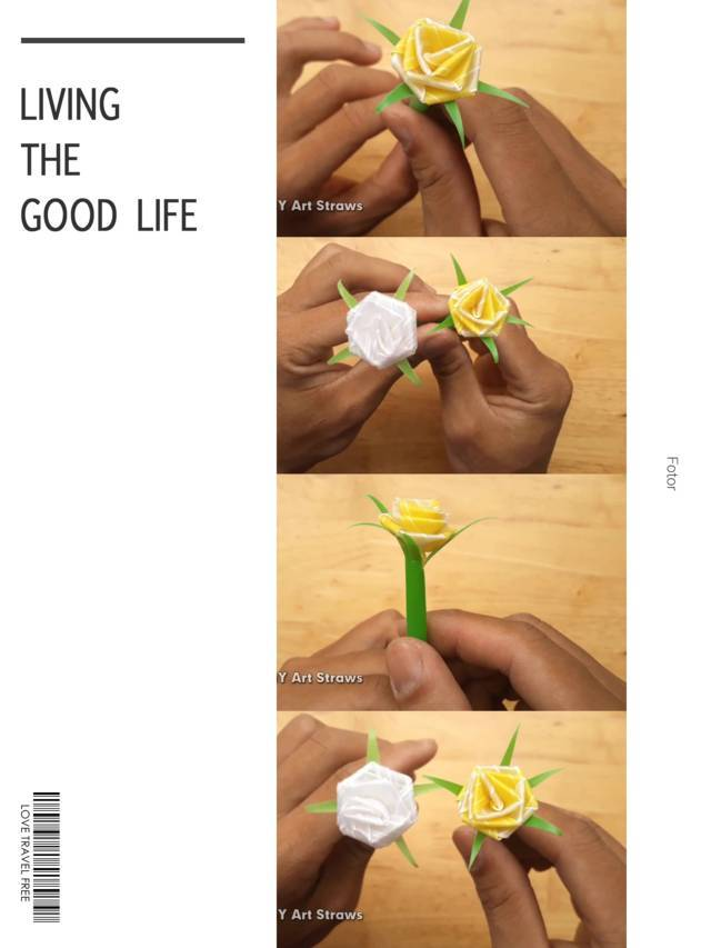 Cara Membuat Bunga Dari Sedotan Beserta Gambarnya : membuat, bunga, sedotan, beserta, gambarnya, Macam, Membuat, Bunga, Sedotan, Mudah, Cantik, Kreator, Kerajinan