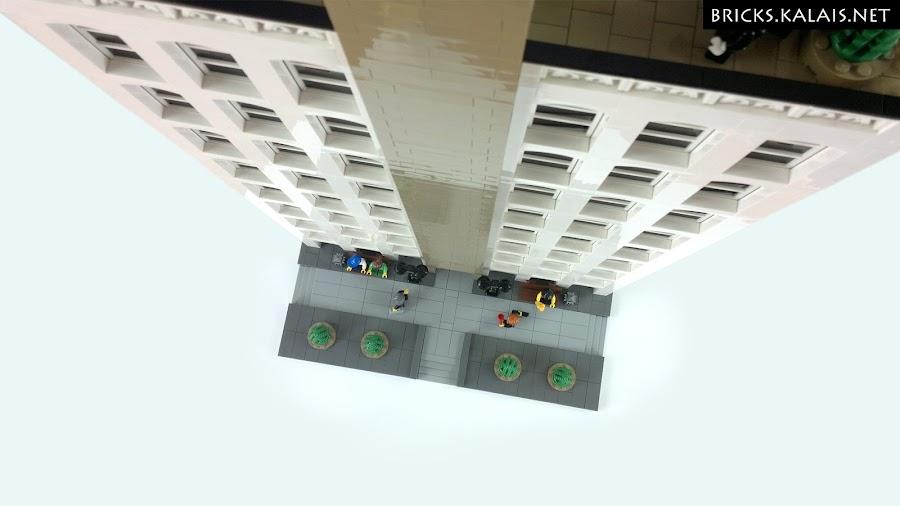 6. I lecimy do góry. Budynek jest naprawdę wysoki.