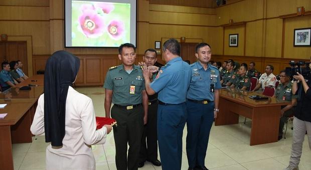 Puspen TNI Menggelar Latihan Fungsi Teknis