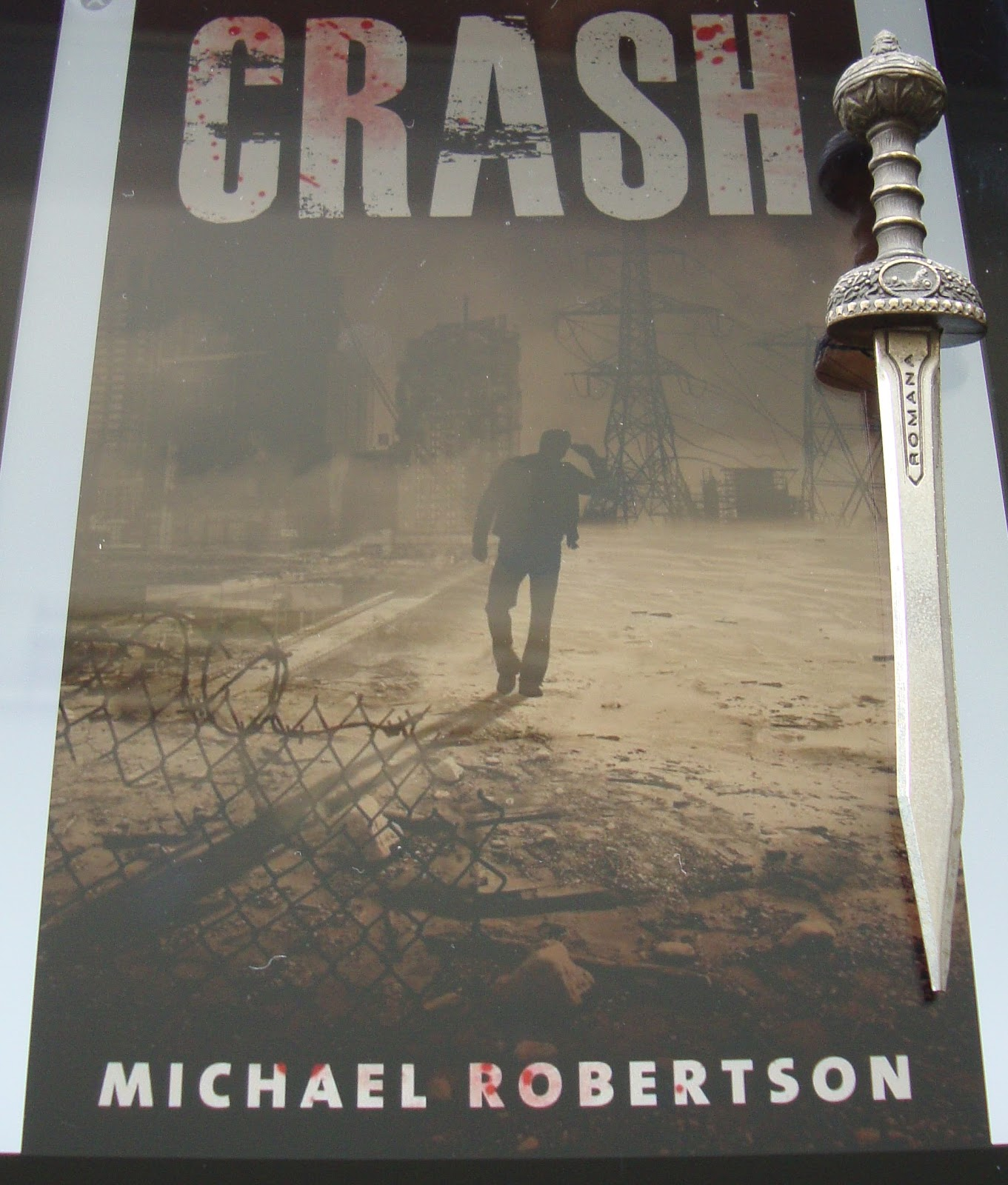 Crash Libro Libros De Olethros Crash Michael Robertson