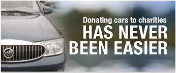 Donating Your Car To Charity