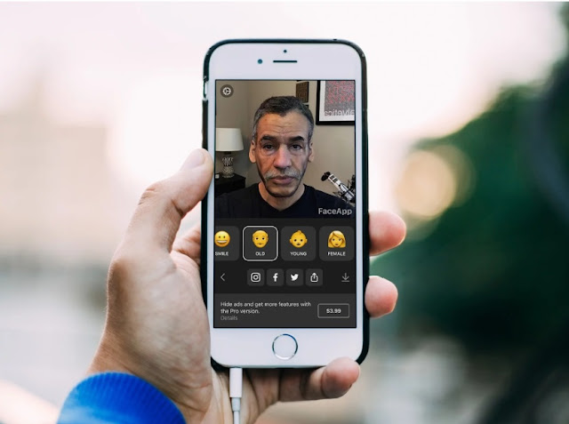 Tutorial Ubah Wajah Muda Menjadi Tua Menggunakan Faceapp