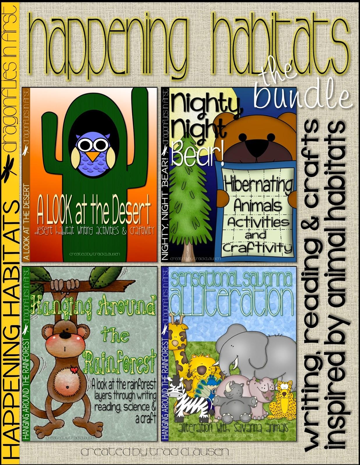 Habitat Plans And A Classroom Freebie