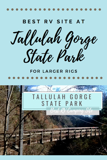 Best RV Site Tallulah Gorge State Park