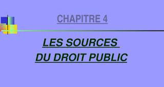 LES SOURCES DU DROIT PUBLIC PDF