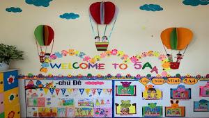 40 Nuansa Hiasan Ruangan Kelas yang Layak Di Coba untuk PAUD, TK dan SD