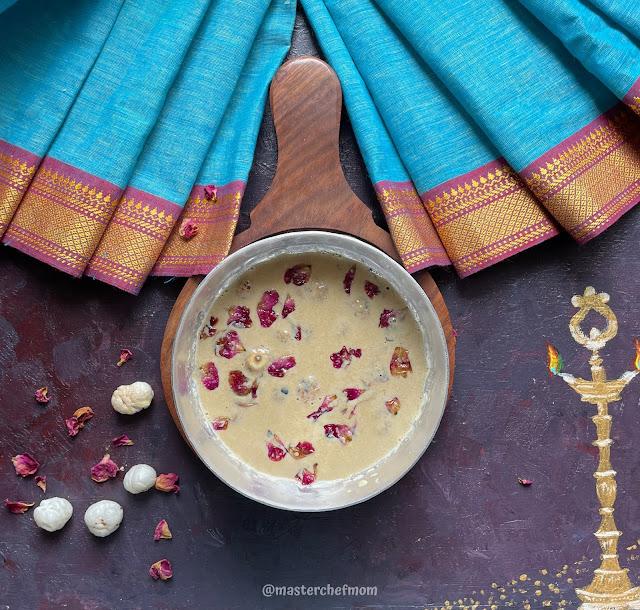 Makhana Payasam Using Jaggery