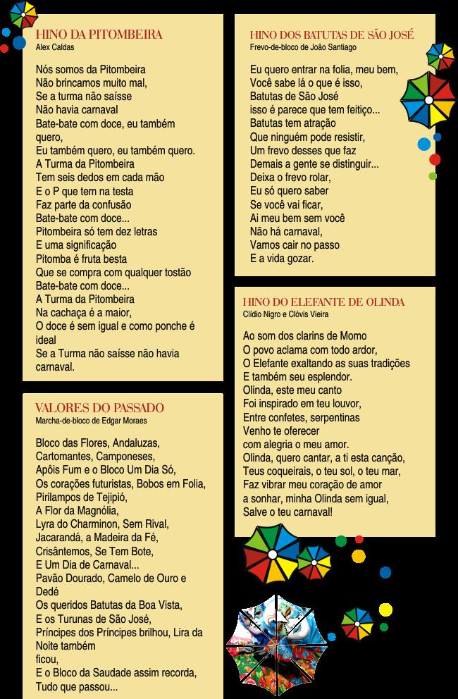Opinobox: CANTANDO O CARNAVAL DE PERNAMBUCO
