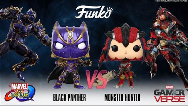 Capcom anuncia novos Funkos Pop do Pantera Negra e Monster ... Scarlett Johansson