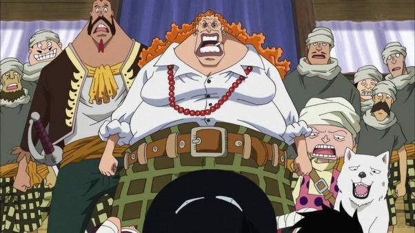 Keluarga Dadan di One Piece