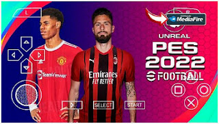 Download PES 2022 PPSSPP Graphics PS4 New Promotion Team Commentary Peter Drury & New Transfer