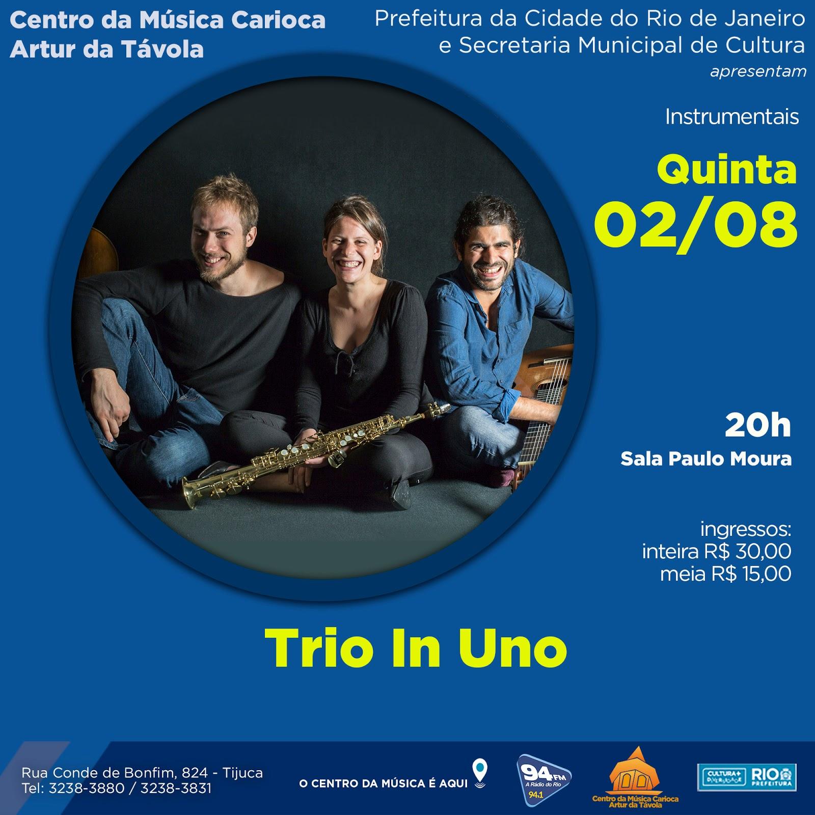 Programa o agosto 2018 centro da m sica carioca artur for Compositore tedesco della musica da tavola