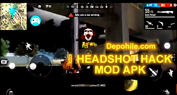 Free Fire 1.48.1 Rendy Mod Otomatik Headshot Atma Hile Apk