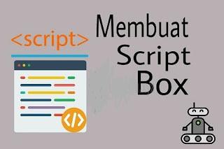 Cara gampang menciptakan kotak untuk menaruh script di dalam postingan Cara gampang menciptakan kotak untuk menaruh script di dalam postingan