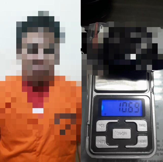 Miliki 10,69 Gram Sabu, ZH Diamankan Satres Narkoba Polresta Tangerang