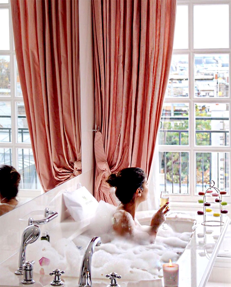 Perfect for a Winter's Day | Places: Spa Le Bristol, Paris