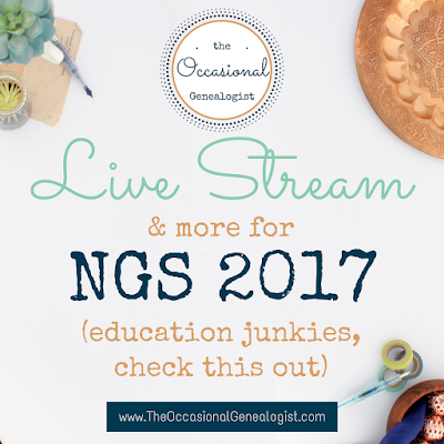 NGS 2017 live stream and audio packages announced.