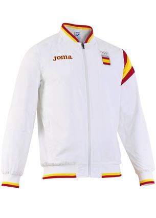 indumentaria España Podium Juegos Olímpicos Rio 2016 Joma