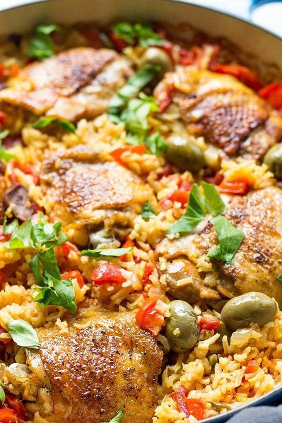 Spanish Chicken And Rice (Best Arroz Con Pollo Recipe)