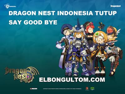 Dragon Nest Gemscool Tutup Service Dan Pelayanan