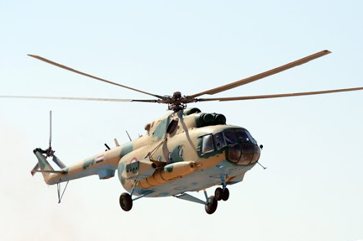 Flying under the radar, Syria's 'Special Purpose' Mi-17s