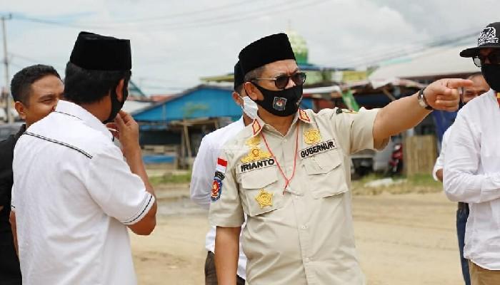 Pemprov Kaltara Siapkan Rp 5 M Perlebar Jalan Pelabuhan Tunon Taka