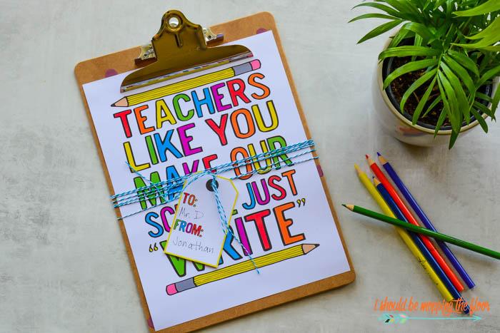 Printables for Teachers