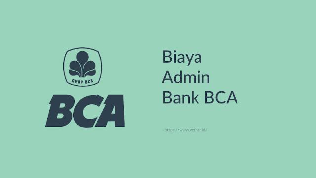 biaya admin bank bca