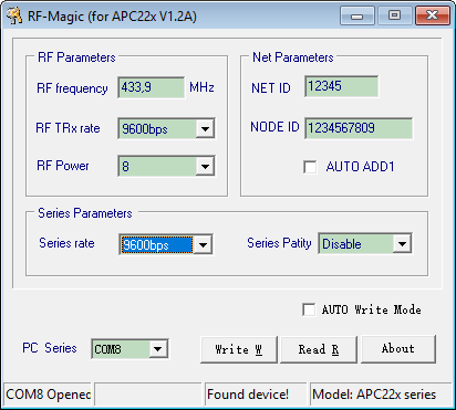 RF-Magic APC220 Windows