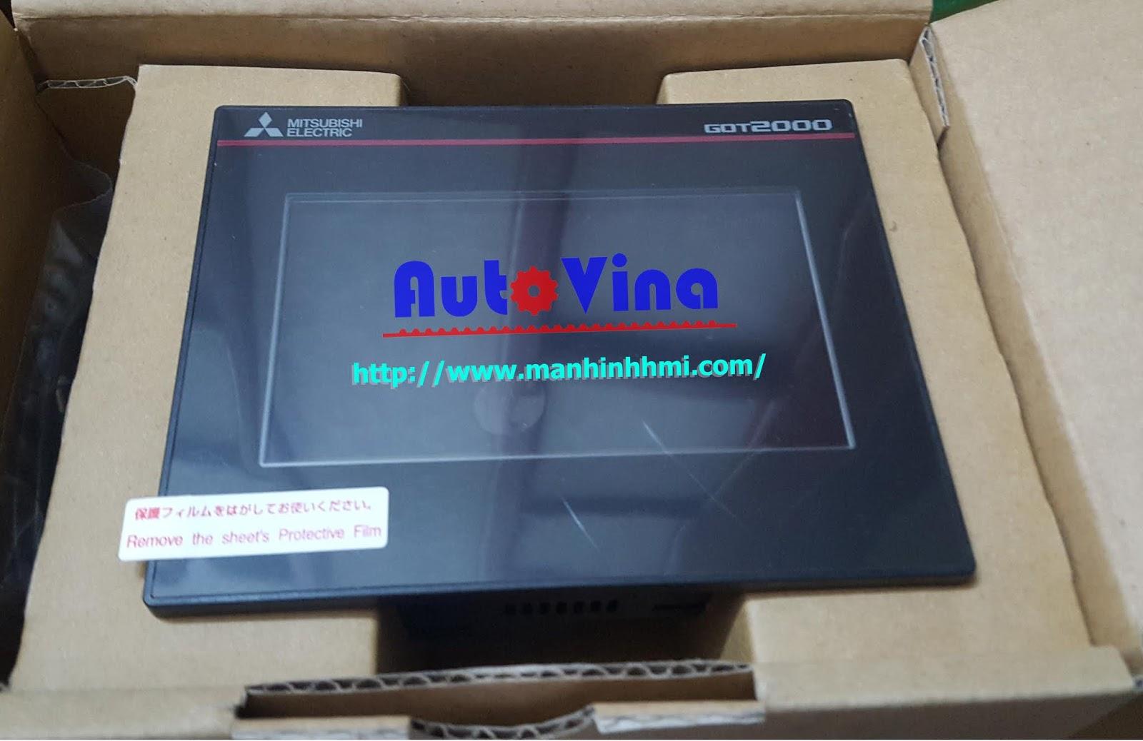 Màn hình HMI Mitsubishi GT2104-RTBD trong kho hàng Công ty TNHH Cơ Điện Auto Vina