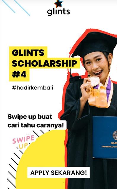 Glints Scholarship Kembali Dibuka Buat Mahasiswa D3 D4 dan S1