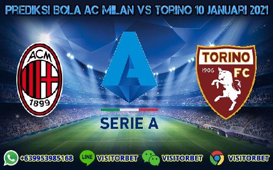Prediksi Skor AC Milan Vs Torino 10 Januari 2021