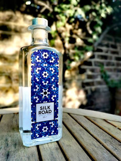 Silk Road White Spiced rum bottle