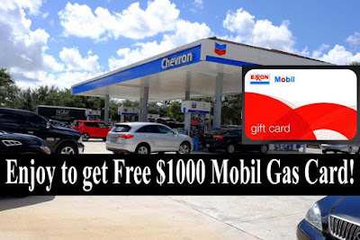 Mobil Gas Card >> Get Free 1000 Mobil Gas Card Us City Market