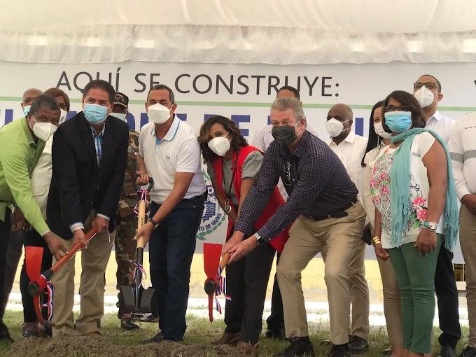 Padesha y Generadora de Electricidad Itabo inician construcción de parque ecológico en antiguos terrenos de vertedero de Haina
