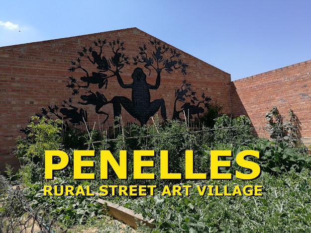 PENELLES RURAL STREET ART VILLAGE
