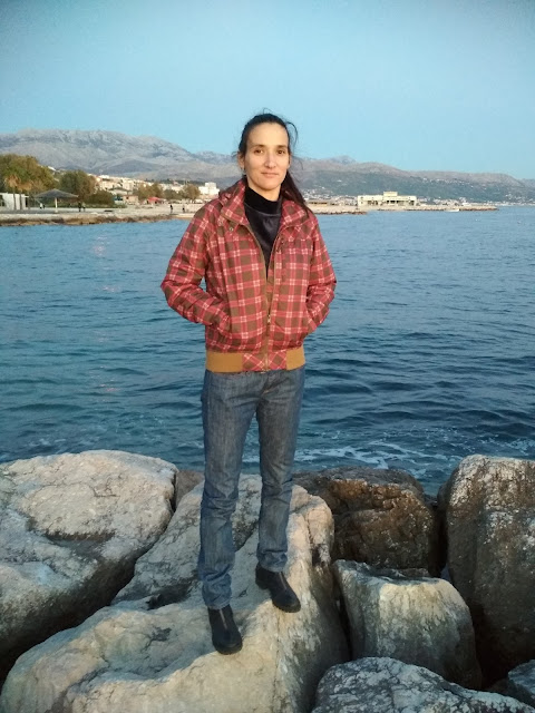 #fashionblog #modniblog Sunset in Split city + outfit of the day (jeans and biker boots)