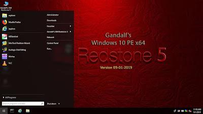 تحميل Windows 10 PE x64 - Version 1809 - Build 17763 Redstone 5
