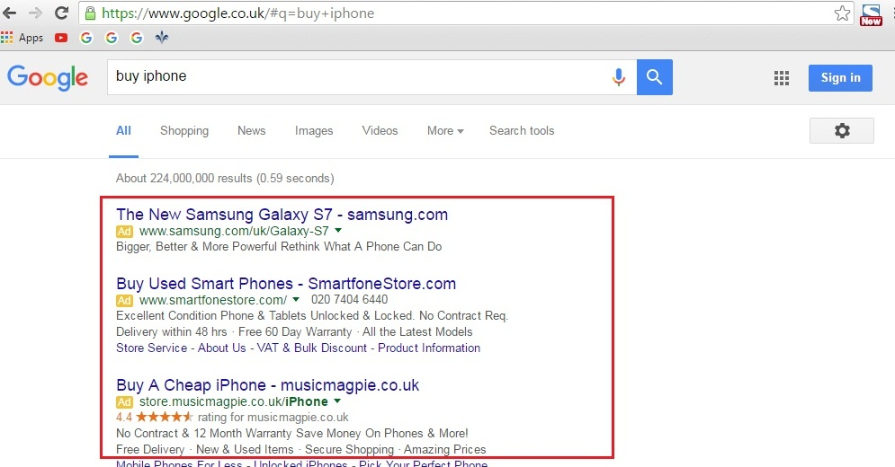 teks ads google adwords