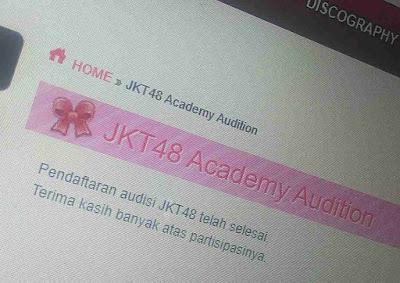 Jadwal Audisi JKT48 Generasi Academy Kapan Dibuka
