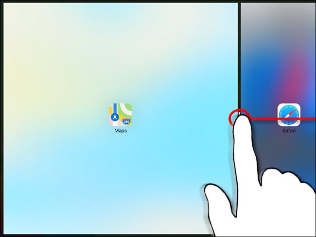 رفض تقسيم العرض على iPad الخطوة 2