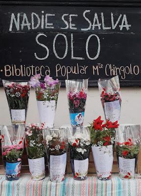 La Biblioteca Popular Monte Chingolo ofrece Flores Naturales y Poesía para celebrar el Día de la Madre