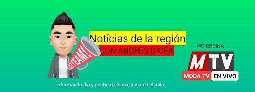 Grupo de noticias con Andrés Dioea