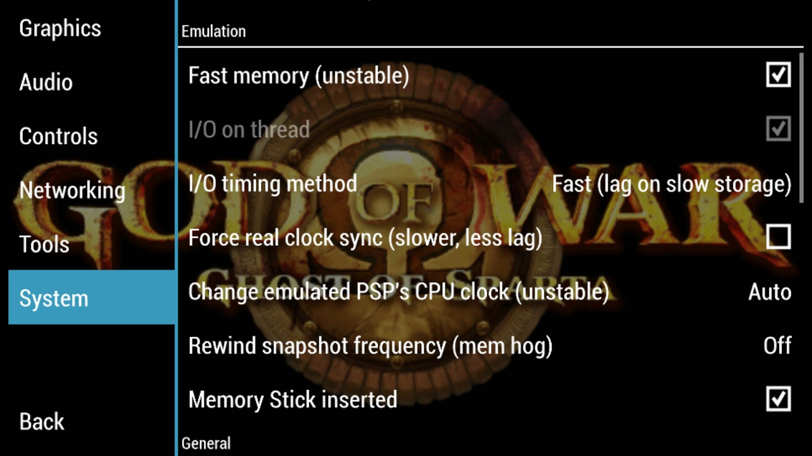 God Of War Best Settings For PPSSPP All Android Devices 100% speed